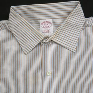 BROOKS BROTHERS Non Iron Button Down Shirt 16-35